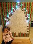 Sapin de Noël géant àcolorier